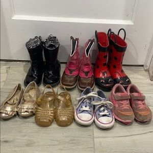 Lot of girls shoes size 7-8
